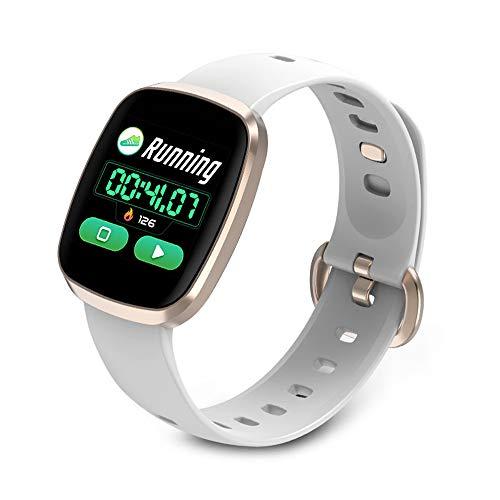 Fitness Tracker fit bit Smart Watches Waterproof Watch Band Heart Rate Monitor Smart Bracelet Sports Watch, Full Touch Screen Dynamic Heart Rate Monitoring 1.3 Inch Color Waterproof - Band 2.6 Screen Touch