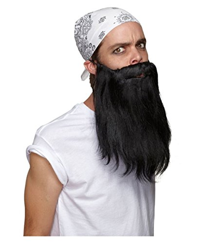 Morris Costumes Beard Basic Black