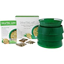 "Handy Pantry Complete Sprouting Kit | ""Sprout Garden"" 3 Tray Sprouter, SG.52 