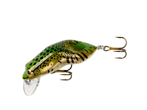 Rebel F71-61 Wee Frog, 2-Inch, 3/8-Ounce, Leopard Frog