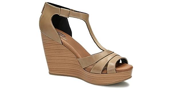 Dr. Scholl's Shoes Womens Stiletto Sandal Beige Size: 8
