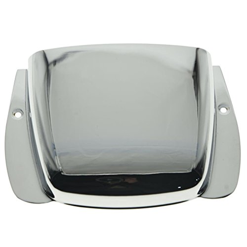 - Chrome P Bass Guitar Bridge Cover Protector for Fender Style Precision P Bass