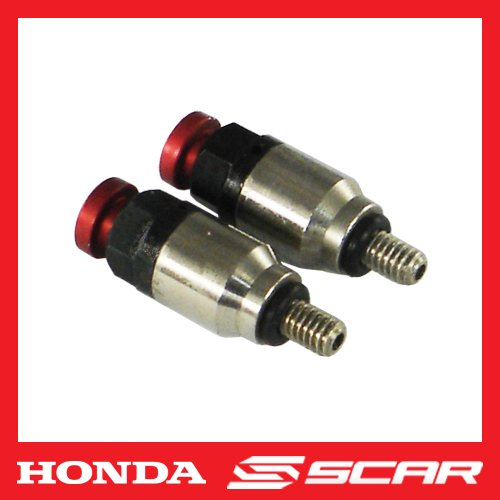 Purgeurs d'air de fourches Valves HONDA 85 150 125 250 450 CR CR-F CRF CRFX CR-F Rouge SCAR