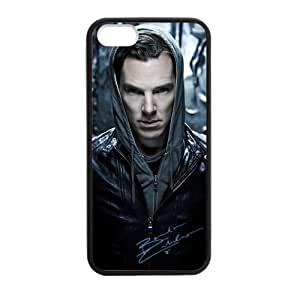 iPhone 5 Case, [Benedict Cumberbatch] iPhone 5,5s Case Custom Durable Case Cover for iPhone5s TPU case (Laser Technology)