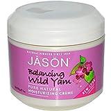 Nature's BabJason Natural, Moisturizing Cream, Balancing Wild Yam, 4 oz (113 g) y