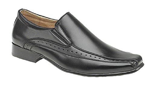 Goor Mens Formal / Suit / Dress Shoes Black xJ0a8Sidpt