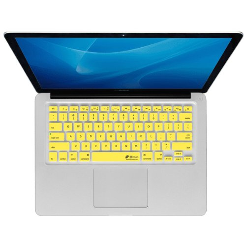 KB Covers CB-M-Yellow CheckerB Cover MacBook Air Pro