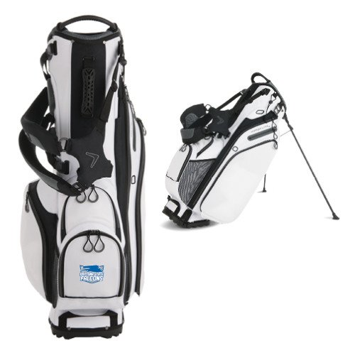 Daytona State Callaway Hyper Lite 4 White Stand Bag 'Official Logo' by CollegeFanGear