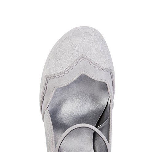 Ruby Pumps Charleston Mary Shoo Imogen amp; Jane Women's Bag Matching Silver PAPrWqSf