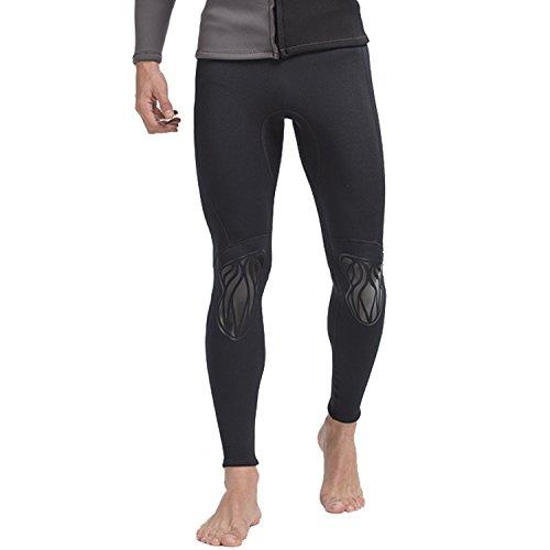 Cahayi Men Wetsuit Pants 3mm Neoprene Snorkeling Diving Surfing Canoeing Pants ()