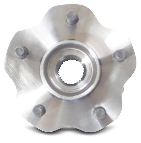 Tomegun 4 to 5 Lug Wheel Bearing Conversion Hub Rear Pair For 89-99 S13/S14 Nissan 240SX by Tomegun (Image #2)