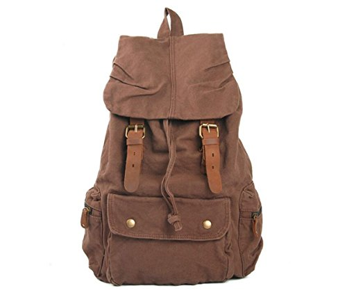 panda supermarket - Bolso mochila  para mujer L marrón