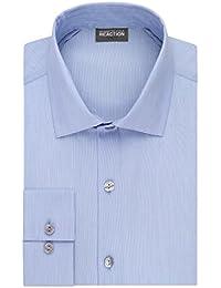 Men's Big and Tall Dress Shirt Technicole Slim Fit...
