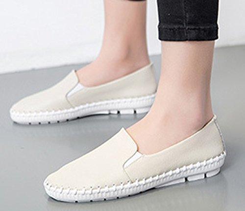 Daily Top Slip Heels Loafers On Aisun Wedge Low Beige Women's 6qOtWqw5Z