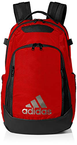(adidas 5-Star Team Backpack, Power Red, One Size)