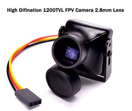 HD 1200TVL FPV Camera COMS NTSC 2.8mm Lens Mini CCTV Security Video Camera for FPV Quadcopter ZMR250 Cctv Quad