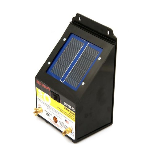 Red Snap'rESP2M-RS 2-Mile Solar Fence Charger