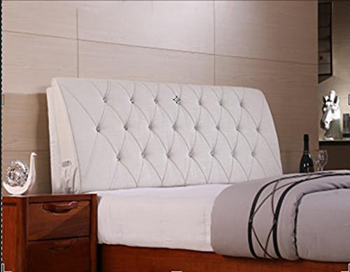 AIDELAI Backrest- Bed Backrest Cushions Upholstered Leather Upholstered Cushions Shall Cover Removable and Washable Cloth Bed (Color : E, Size : M)