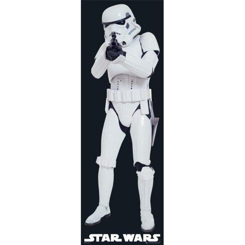 Star Wars Door Poster Storm Trooper