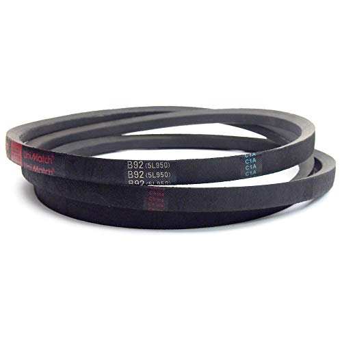 16 Length Rubber L Belt Section Browning Industrial Belts 2L160 FHP V-Belt