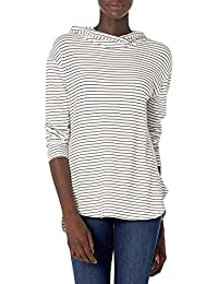 Amazon Brand - Daily Ritual Women's Supersoft Terry Long-Sleeve Hooded Pullover