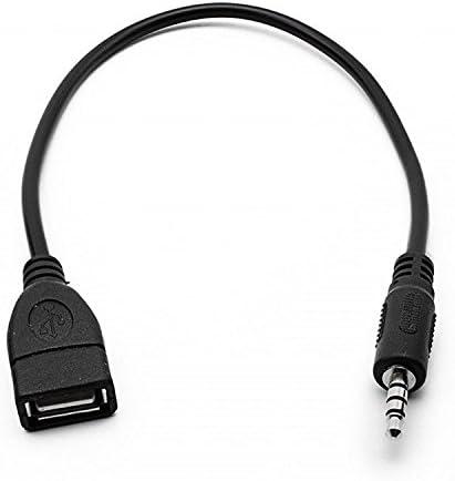 Los Angeles chaussures de sport Prix 50% XJoel 3.5mm mâle AUX Plug Jack Pour USB 2.0 Femme Câble convertisseur Cord  Car MP3