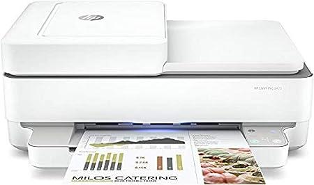 Stampante multifunzione hp envy pro 6420 5se45b,stampa, scansiona, foto,formato a4, fax