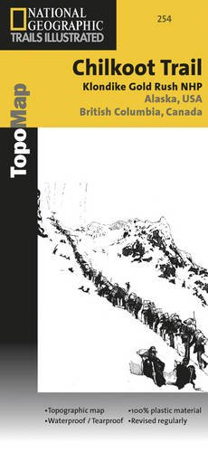 Chilkoot Trail, Klondike Gold Rush National Historic Park (National Geographic Trails Illustrated Map)