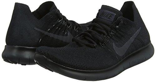 noir Free 2017 013 Sentier Course Rn Chaussures Pour De Femme Wmns Flyknit Noir Sur Anthracite Nike 4xw5IFqOZn