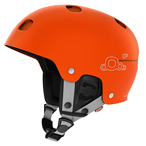 (POC Receptor Bug Helmet, Iron Orange, Medium)