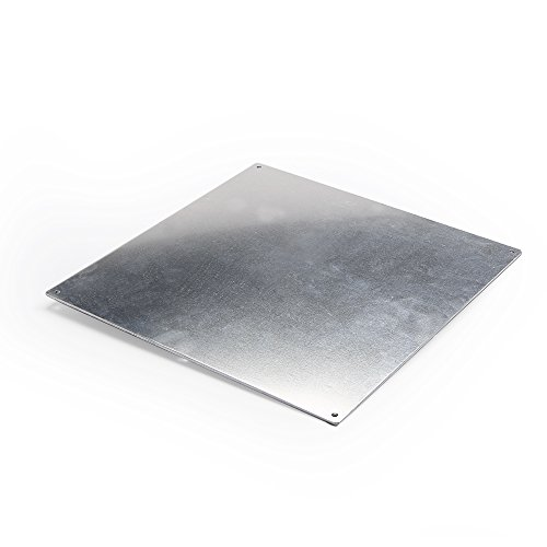 3D Printer Aluminum Heated Bed Build Plate,Aluminum Plate for heatbed MK2 of 3D Printer,220X220X2mm by Co-link