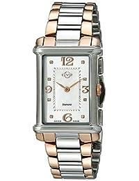 GV2 Women's 8402 Principessa Analog Display Quartz Two Tone Watch