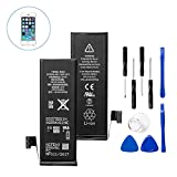 iPhone 5 Battery Replacement, Insten Replacement Standard Battery with Repair Tool Kits