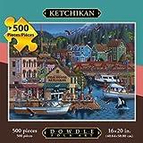 Jigsaw Puzzle - Ketchikan 500 Pc By Dowdle Folk Art