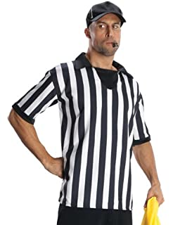 Rubie s Costume Heroes And Hombres Adult Referee Shirt And Hat 2e7e1915a