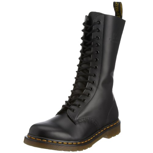 Dr. Martens 1914Z Smooth Black - Botas militares, color: Negro Black