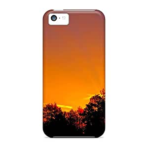 High-quality Durable Protection Case For Iphone 5c(sunset Glow)