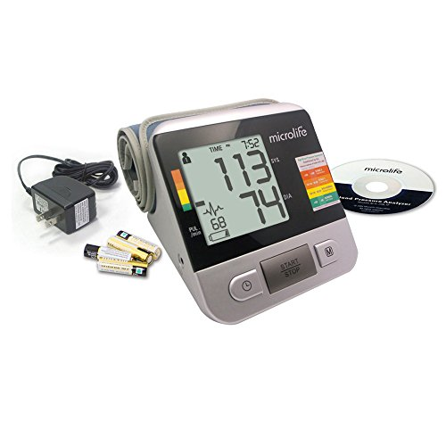 Microlife Bp3na1-1x Deluxe Automatic Digital Blood Pressure Monitor (Deluxe Automatic Blood Pressure Monitor)