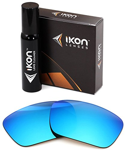 Polarized Ikon Iridium Replacement Lenses For Oakley Canteen 2014 Sunglasses - Ice - Iridium Ice Replacement Lenses