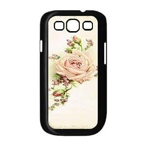 Rose ZLB591239 DIY Phone Case for Samsung Galaxy S3 I9300, Samsung Galaxy S3 I9300 Case