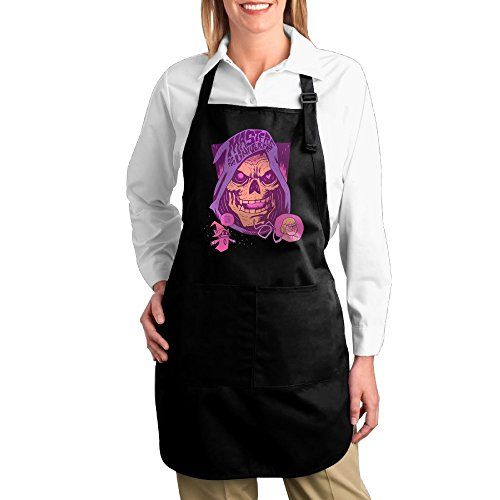 Valenti47 LOL Skeletor Cute Kitchen Cooking Apron With (Skeletor Cosplay Costume)