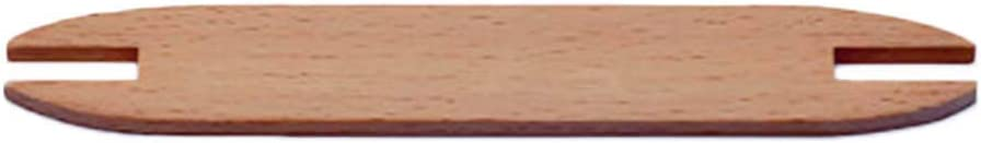 Holzfarbe JOYKK Buchenholz Weben Shuttle Webstuhl Strickwerkzeug Pullover Schal Tapisserie Coil Stick