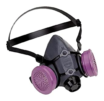 north 7700 series silicon half mask respirator