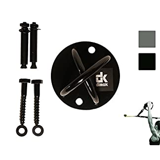 dimok-Xmount-Wall-Mount-Bracket-for-Suspension-Straps-Resistance-Trainer-Yoga-Trapeze-Ceiling-Mount-Yoga-Swing-Mount-Anchor-for-Gymnastic-Rings-Boxing-Equipment-Heavy-Bag-Battle-Rope