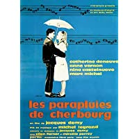 Les Parapluies De Cherbourg - French Movie Poster: The Umbrellas of. (Size: 27 inches x 37 inches)