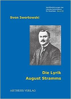 Book Die Lyrik August Stramms