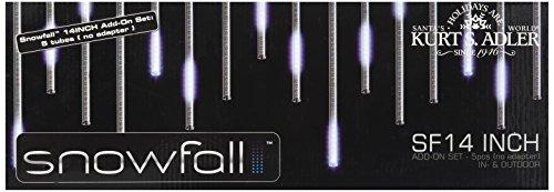 Kurt Adler UL2517N Snowfall Add-On 5-Light Set with 14-Inch Tubes by Kurt Adler (Image #1)