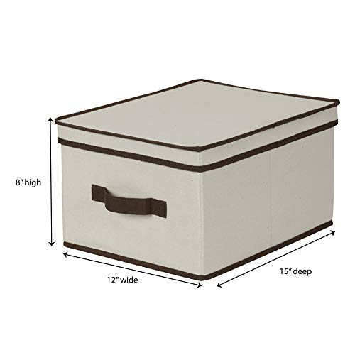 Household Essentials 513 Storage Box With Lid And Handle