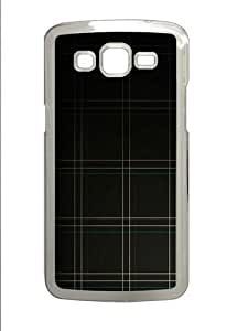 Dark Plaid pattern abstract Custom Samsung Grand 7106/2 Case Cover Polycarbonate Transparent