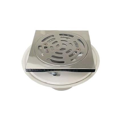 Merveilleux ProFlo PF821PCPQ 2u0026quot; PVC Adjustable Shower Drain With Square Brass  Strainer